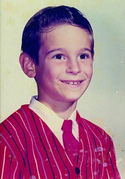 Rabbi as a young boy.